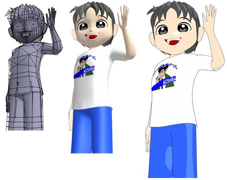 CGキャラクター作成